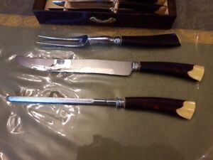 GH - Hill Stainless Steel Carving Set 9 Pieces