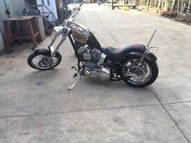 Harley Davidson 1450 revtech custom chopper