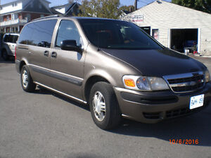 2004 CHEVROLET EXTENDED MINIVAN--LOW MILEAGE E TESTED