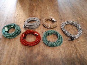 WHAAAT! 10 FOOT LONG RAPID CHARGING CABLES FOR APPLE, ANDROID A