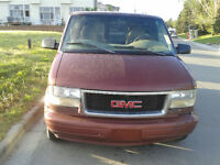1998 GMC Safari Van, Auto mechanic's work Van