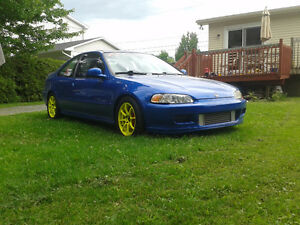 1993 Honda Civic Coupé turbo forgé (2 portes)