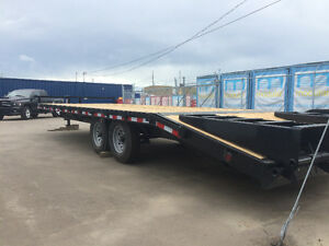 Brand New (2017) 25 ft Deck-Over Trailer