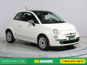 2014 Fiat 500 Lounge A/C CUIR TOIT MAGS