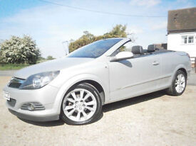 0656 VAUXHALL ASTRA 1.8i AUTOMATIC CONVERTIBLE TWIN TOP DESIGN 70K FSH AMAZING