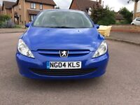 Peugeot 307 1.4 HDI 2004 Diesel £30 Road tax for 1 Year