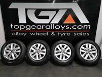 "15"" Original CADDY KEMORA Alloy Wheels & Tyres 2K5601025"