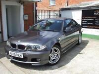 2005 05 BMW 3 SERIES 2.0 318CI SPORT 2D 141 BHP FSH LOW MILES