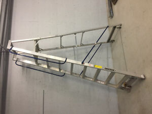 Ladder platform rolling