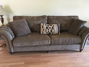 Beautiful couch and love seat