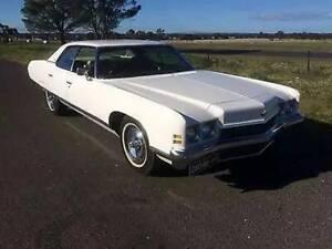 1972 chevrolet  caprice pillarless sedan