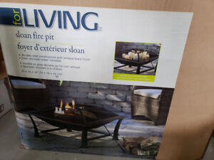 OUTDOOR FIREPLACE BRAND NEW IN BOX