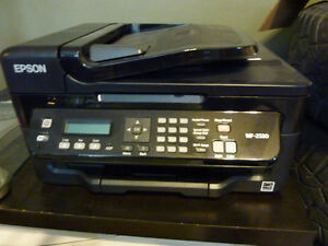 EPSON WORK FORCE WF-2530  PRINTER COPIER SCANNER FAX ALL IN ONE