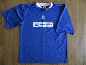 Chandail - Maillot - Coupe du monde - France 98