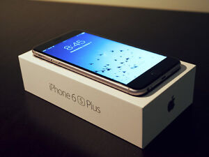 Mint Condition iPhone 6s Plus-(Space Gray)-(Rogers)16GB=$550