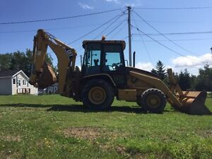2003 CAT 420 D Backhoe