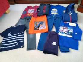 Boys Designer Clothes Bundle .Age 5 Years.10 Items.