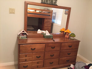 Cottage Mirror and Dresser for sale in Bobcaygeon