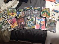 Comic lot-beautiful DC lot with key issues for cheap