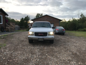 1997 GMC 1500 2WD TRADE FOR 4X4
