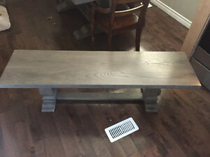 Solid maple dining table and hutch Kitchener / Waterloo Kitchener Area image 3