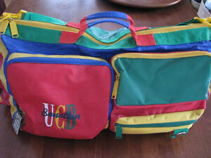 Vintage Benetton Travel Bag
