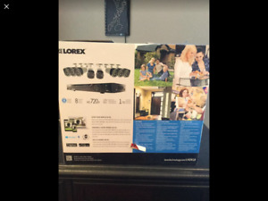 LOREX HD 720p SECURITY CAMERA SYSTEM -8 CAMERAS..CAN BE PAIRED