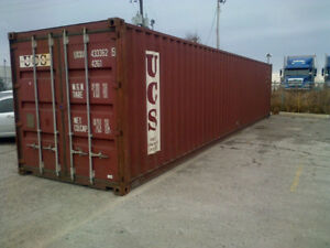 Steel Shipping Containers / Steel Storage Containers