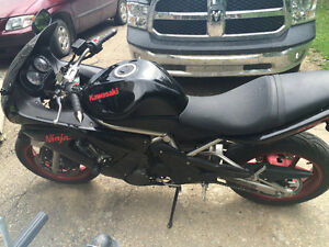 Ninja 650r forsale possibly trade
