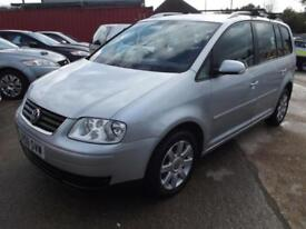 Volkswagen Touran 1.9TDI SE 5 DOOR 7 SEATER MPV WITH FULL SERVICE HISTORY