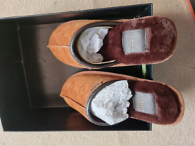 Ted Baker Slippers (UK Size 8 brand new) Darax