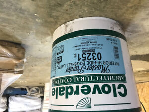 Paint 5 gallon buckets premium ceiling and wall