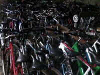 vente de garage de vélos montagne réparé,50$ et plus.