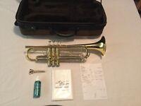 Phil Parker International Trumpet - with original receipt.....