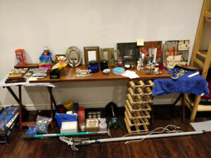 Moving Sale. Lots of valuable items!