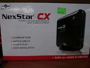 "NexStar CX 3.5"" eSATA to USB 2.0 External Hard Drive Enclosure"