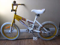 """Supercycle Girls kids bike with 16"""" tires"""