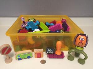 Kids Building Toys, Puzzle & Thomas Train Set