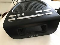 Pure Siesta Mi DAB / DAB+ Digital Radio with FM Tuner - Black.