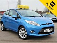 2011 FORD FIESTA 1.2 ZETEC 81 BHP! P/X WELCOME+NEW CLUTCH 2016+2 OWNERS+AUXUSB
