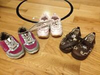 Size 4 and 5 toddler shoes