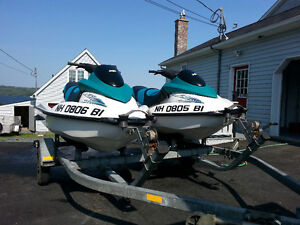Looking For a WInter Project? 2 x 2001 Seadoo GTS