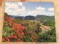 Cuba canvas photoprint picture frame