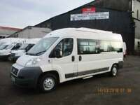 FIAT DUCATO MINIBUS WITH WHEELCHAIR ACCESS £6995+VAT