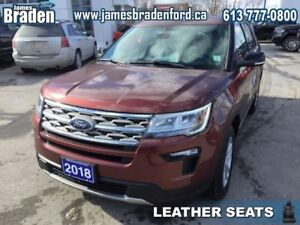2018 Ford Explorer XLT 4WD  - Leather Seats -  Heated Seats
