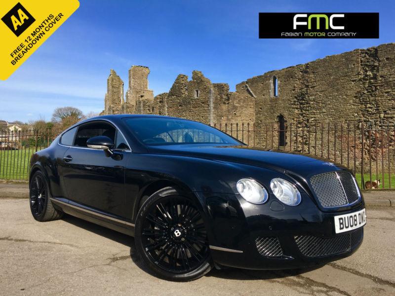 2008 Bentley Continental GT Speed Mulliner 6.0 W12 600bhp **Full History**