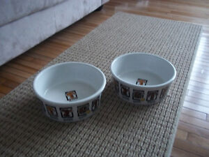 ceramic dog dishes