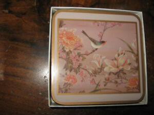 Pimpernel Coaster Set - New, still in box, circa 1980