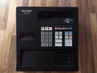 Till cash register sharp xe-a107