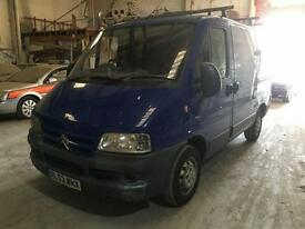 2004 Citroen Relay 2.0 Van Turbo HDi 5 door Van